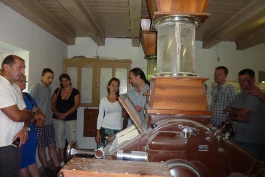 Mühlenbesichtigung